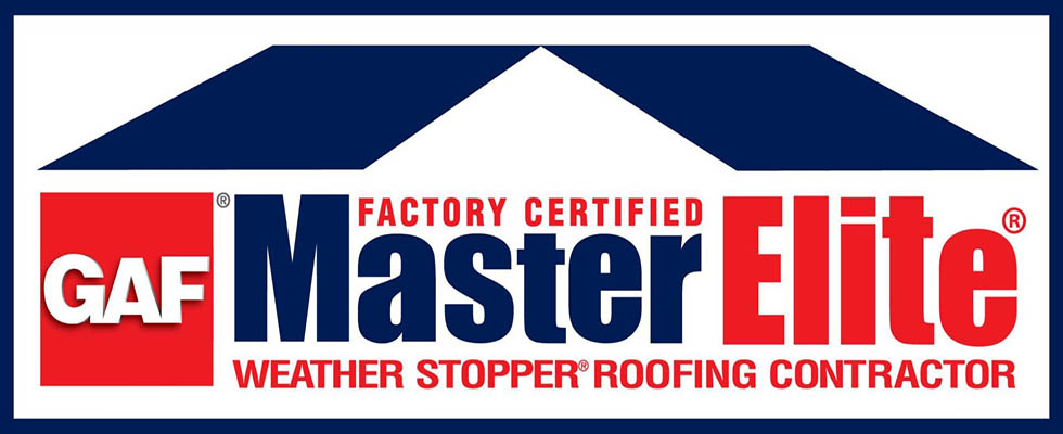 We are a GAF Master Elite Certified Roofing Contractor