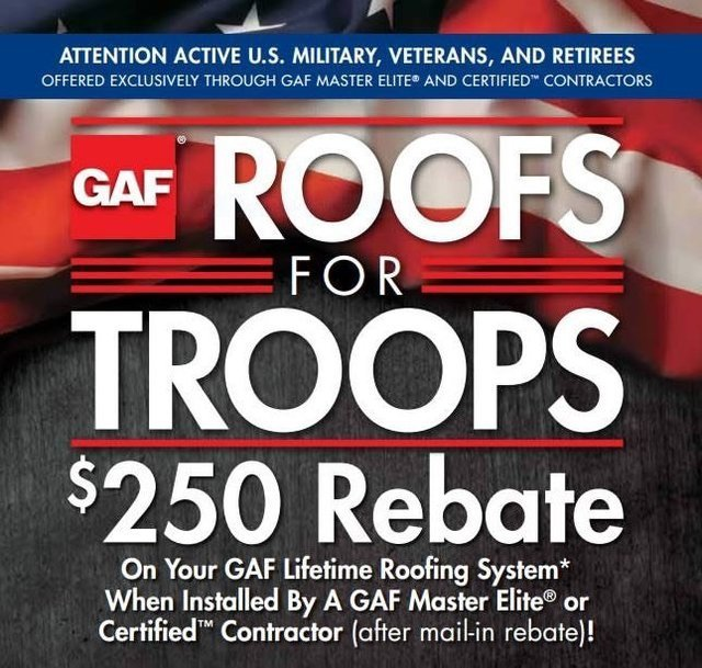 Alliance Roofing - Houston, Texas - Roofs for Troops
